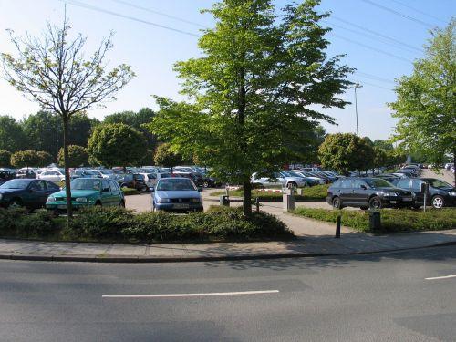 park autos traffic