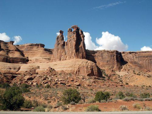 park scenic rock