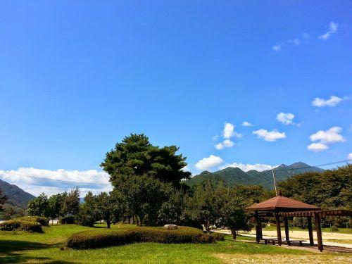 park hut nature