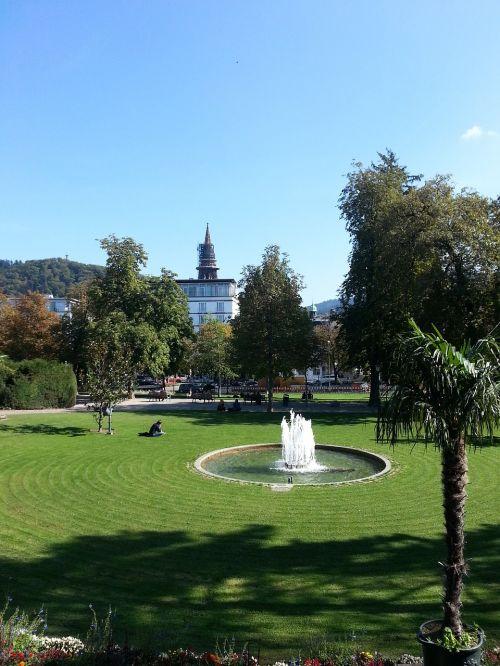 park fountain meadow