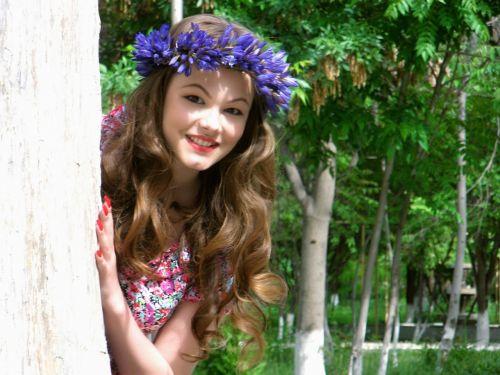 park nature girl