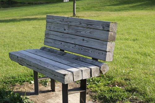 park bench  park  bench