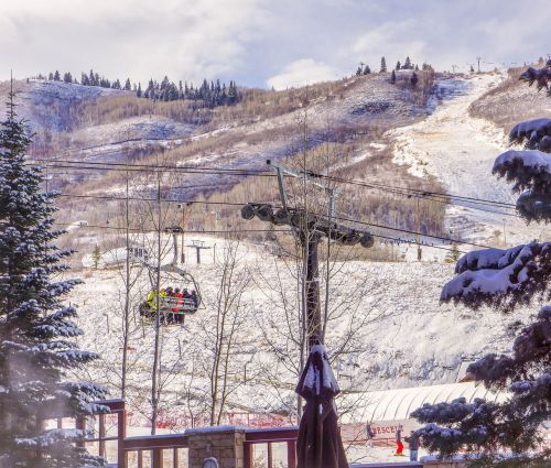 park city utah ski lift