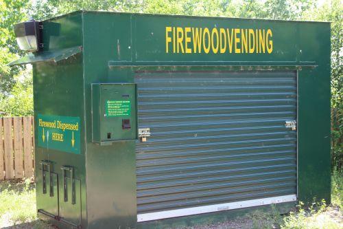 Park Firewood Vending Machine