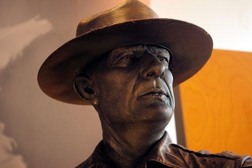 park ranger sculpture  sculpture  statue