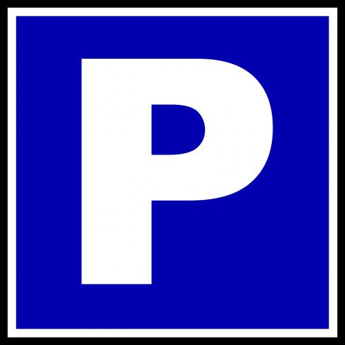 parking road sign roadsign