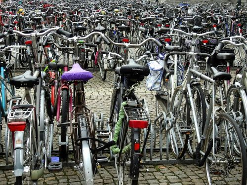 parking wheel bike