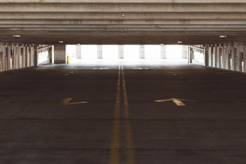 parking parking deck parking lot