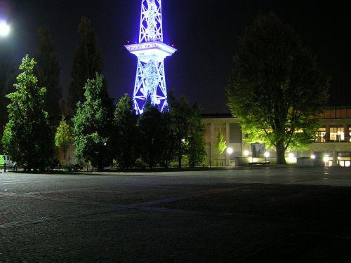 parking radio tower berlin