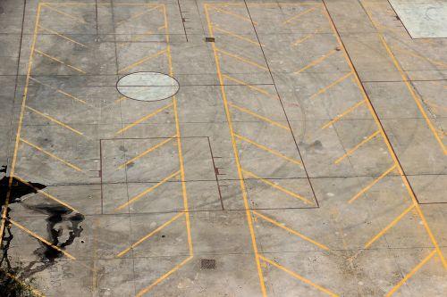 parking mark road marking