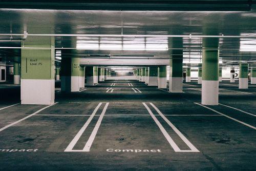 parking space asphalt