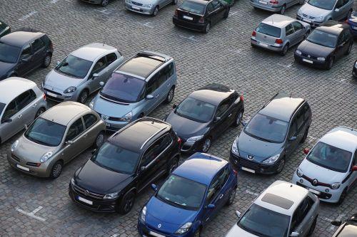 parking autos vehicles