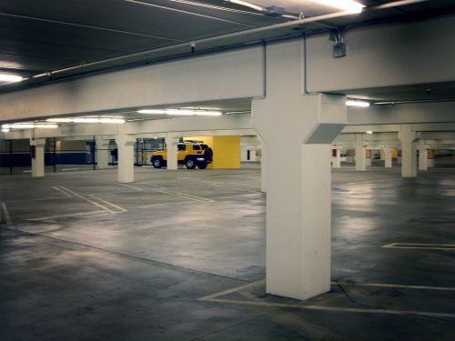 parking lot parking deck basement garage