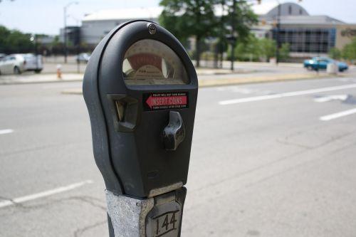 parking meter meter expired