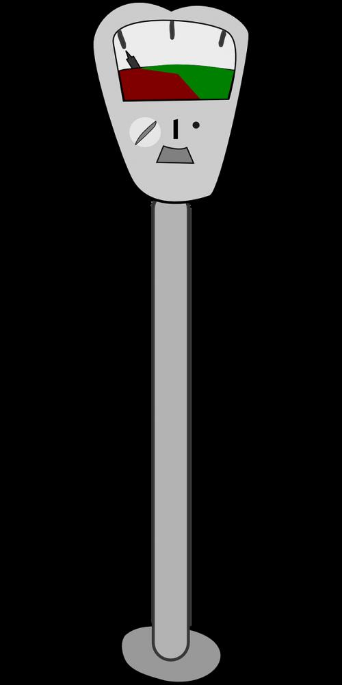 parking meter meter city parking