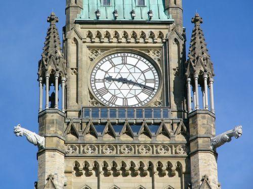 parliament hill clock tower