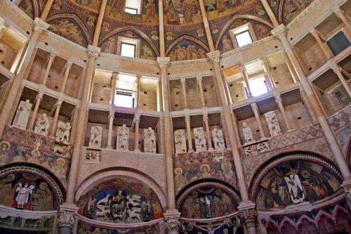 parma baptistery italy