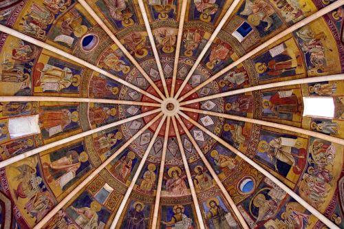 parma baptistery dome