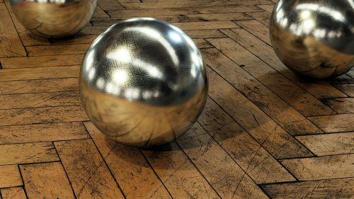 parquet wood balls