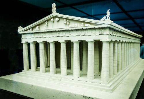 parthenon architecture ancient greece