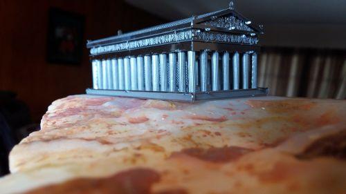 parthenon acropolis model