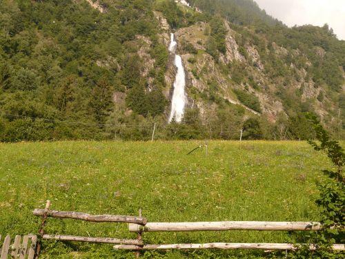 partschins krioklys,krioklys,kraštovaizdis,žygis,pieva,kalnų gamta,South Tyrol