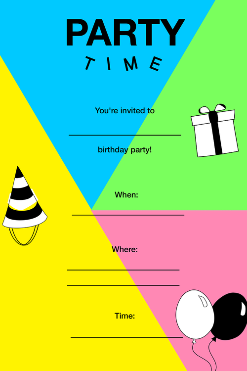 party  invitation  party invitation