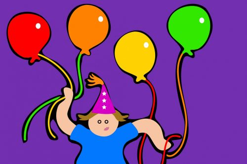 Party Kid Clipart