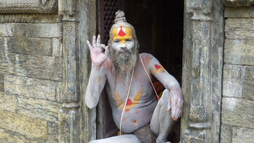 pashupatinath nepal yoggi