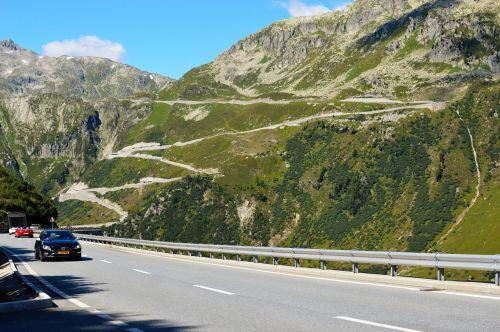 furka pass pass alps