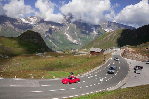 pass high alpine road grossglockner