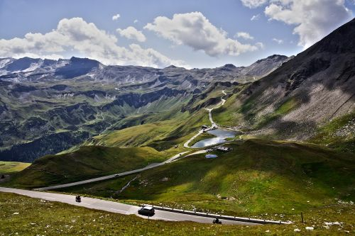 pass high alpine road grossglockner