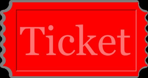 pass ticket admit