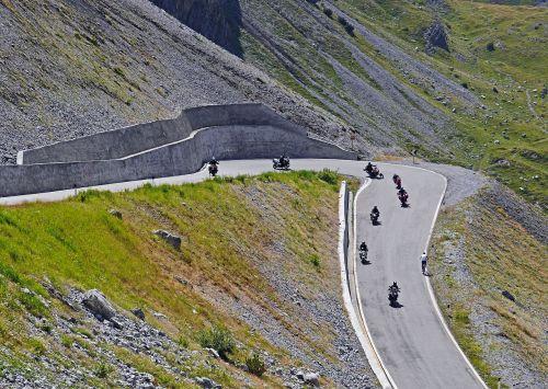 pass driving biker stelvio yoke