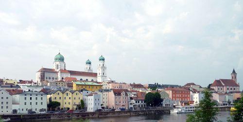 passau bavaria old town