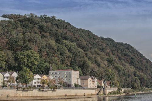 passau bank of the danube danube