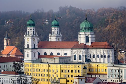 passau  dom  st stephan's cathedral