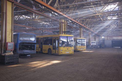 passenger bus repair