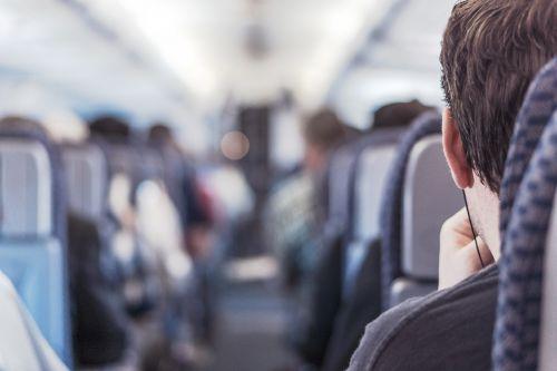 passenger airplane passenger train