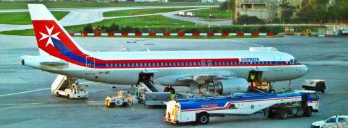 Passenger Aircraft Air Malta