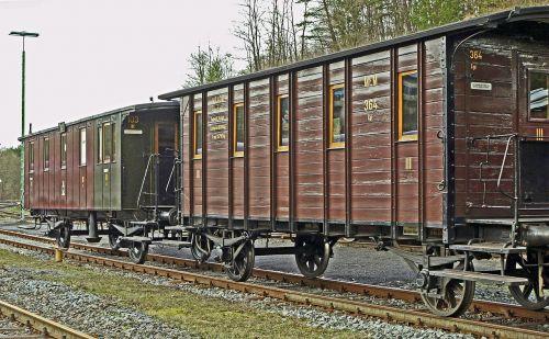 passenger train car prussian historically
