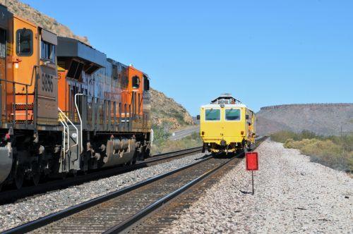Passing Train Cars