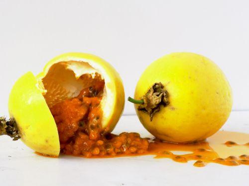 passion fruit fruit pulp