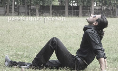 Passionate Male Model