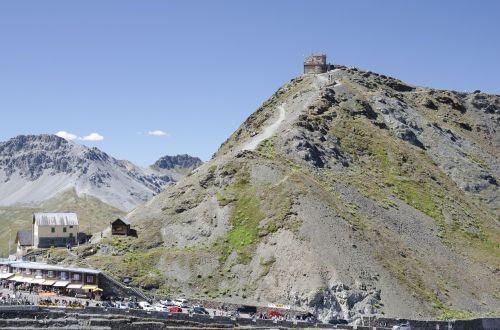 passo stelvio mountains pass