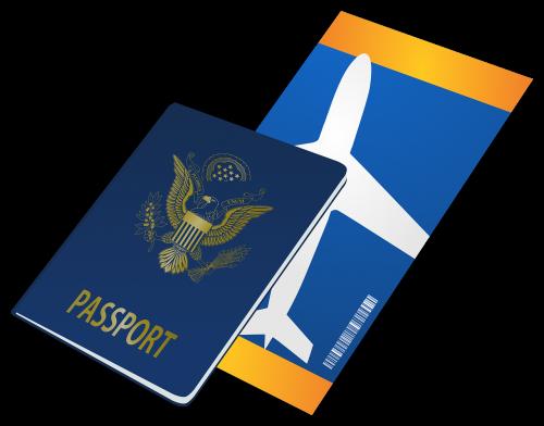 passport ticket travel