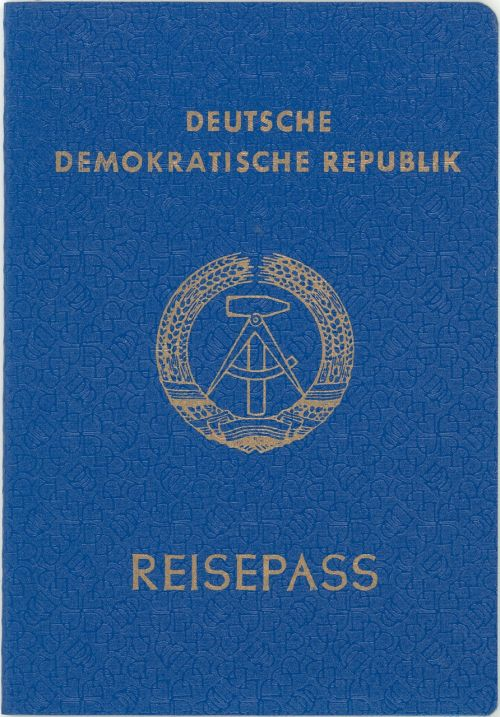 passport lack of article once ddr