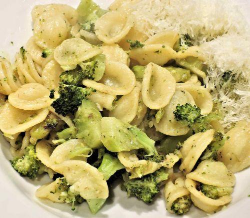 pasta orecchiette broccoli