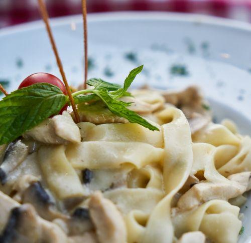 pasta delicious healthy food