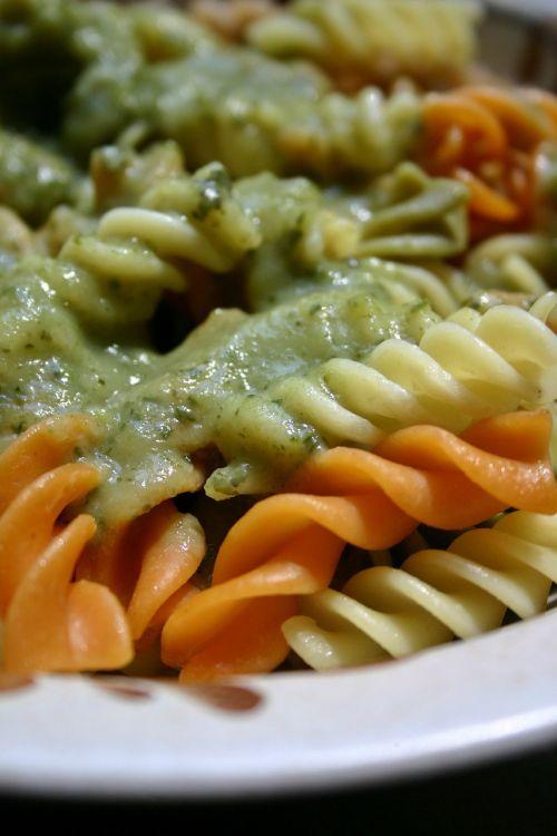 pasta noodles vegetables